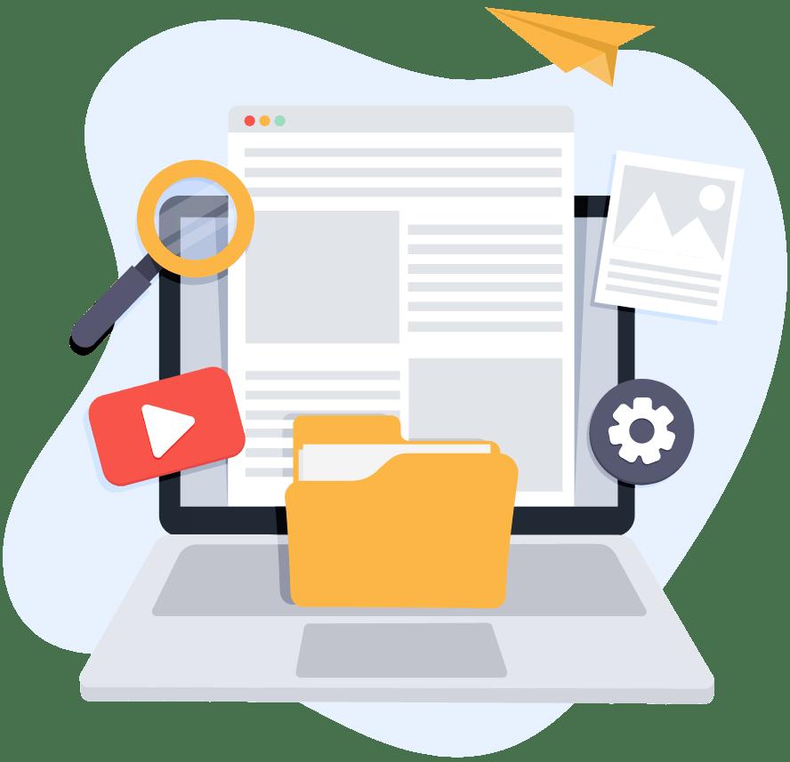 Η συγγραφή άρθρων για ομάδες προϊόντων με σκοπό την προώθηση τους στα Social Media, το newsletter και τη SEO βελτιστοποίηση του e-shop είναι μια αναγκαία εργασία.
