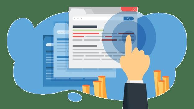 Η υπηρεσία για τη διαχείριση eshop εξασφαλίζει με τη βοήθεια της ομάδας copywriting, τη δημιουργία ελκυστικών μηνυμάτων για χρήση τους στις διαφημίσεις της Google